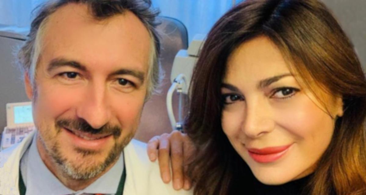Foto di Katia Noventa con il Dr Vigo
