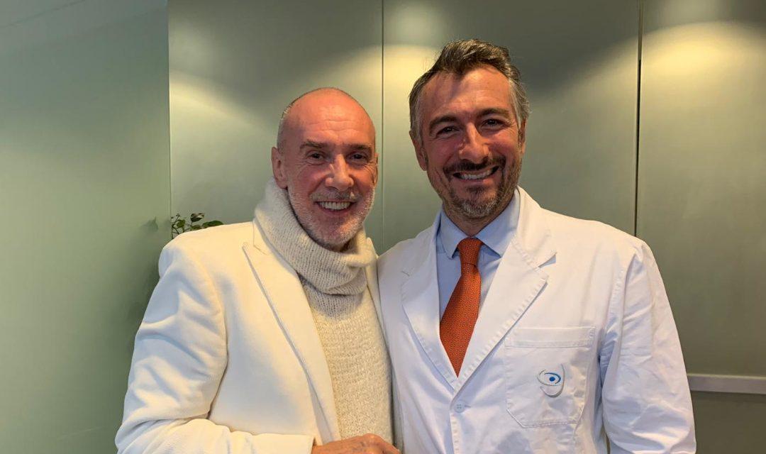 Foto di Diego Della Palma con Luca Vigo