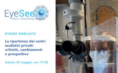 Il dott. Carones tra i protagonisti dell'importante appuntamento online sulla ripartenza del settore oftalmo-chirurgico in Italia