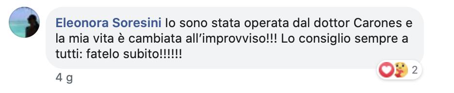Recensioni Oculisti CARONES Vision Milano
