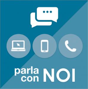 Accedi al servizio Parla con Noi